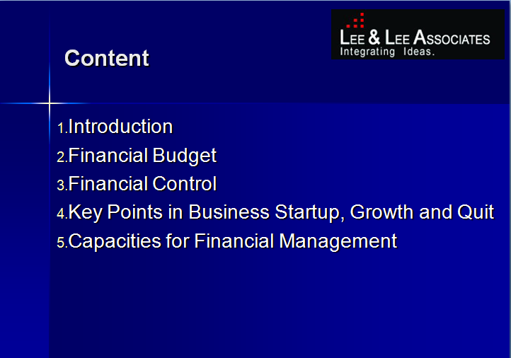 SME Financial Management in China